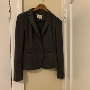 Charcoal Grey LOFT Blazer